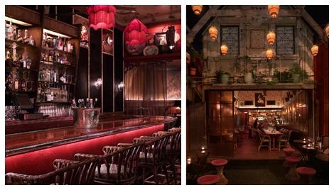 West Hollywood Restaurants Bars Chateau Marmont Bar Marmont